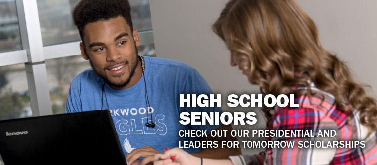 High School Seniors, check out our Presidential and Leaders for Tomorrow Scholarships.