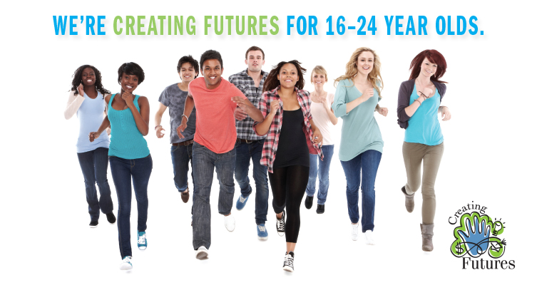 We're Creating Futures for 16–24 year olds.