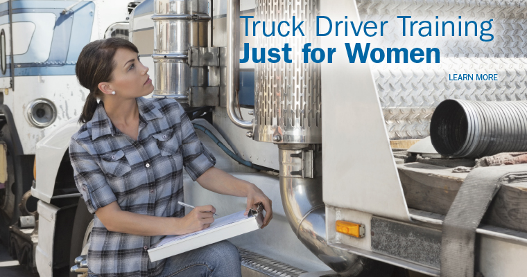 Truck Driver Training Just for Women